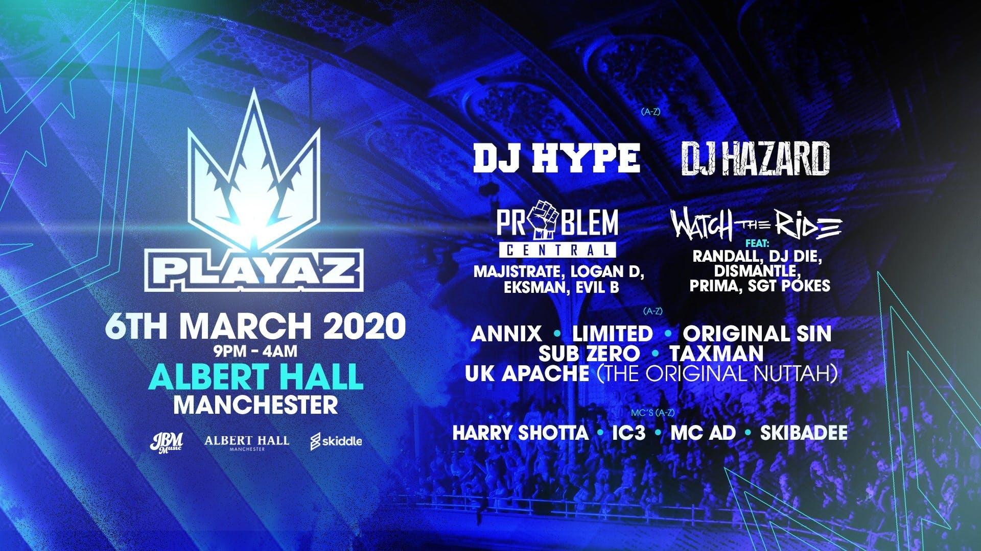Playaz Manchester