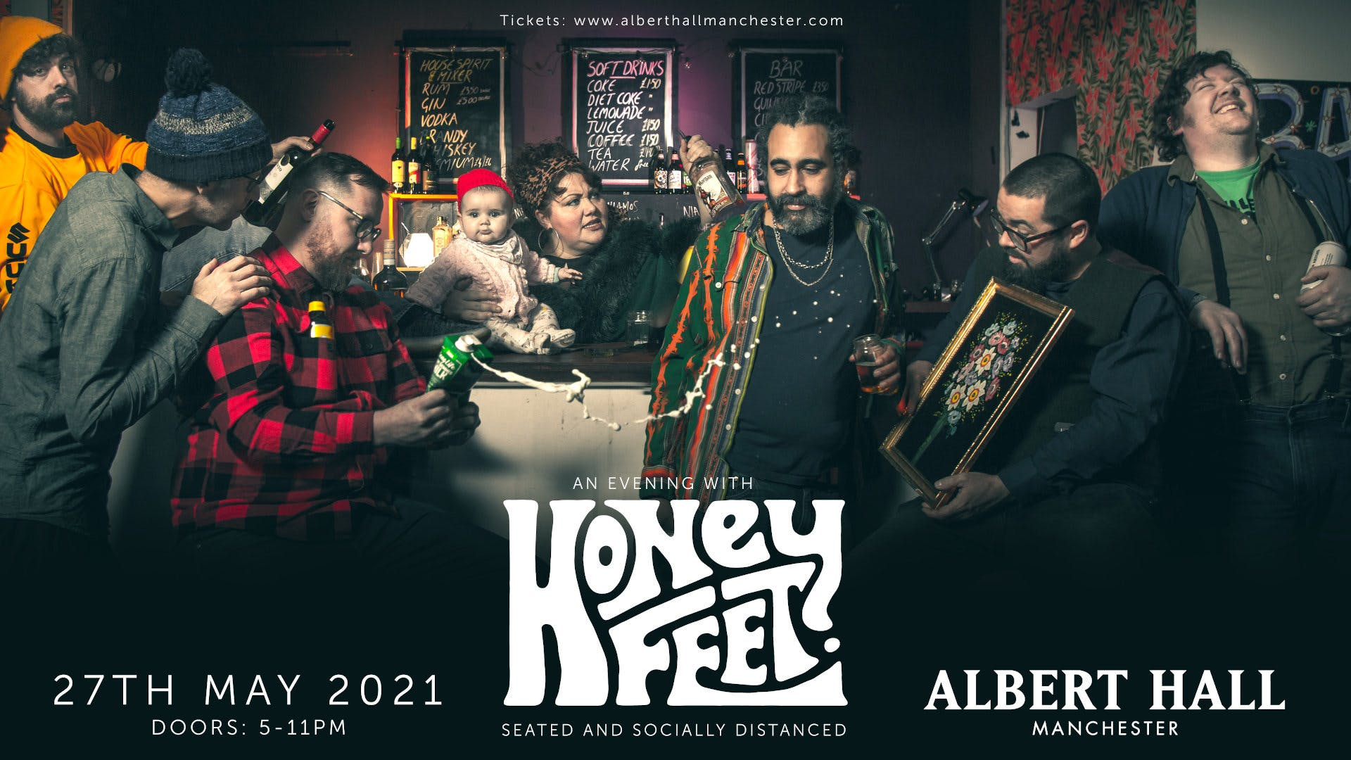 An Evening With: HONEYFEET (Seated And Socially Distanced)