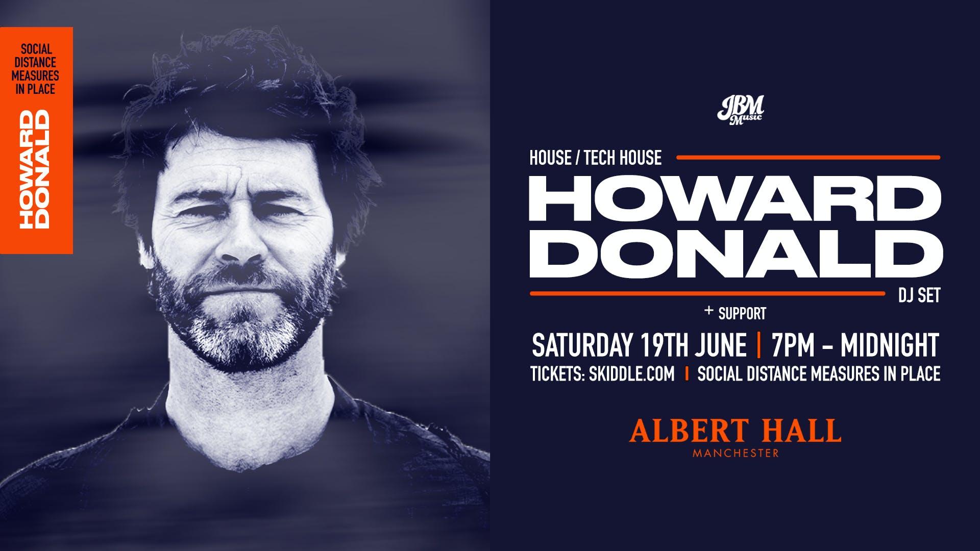 HOWARD DONALD (DJ SET)