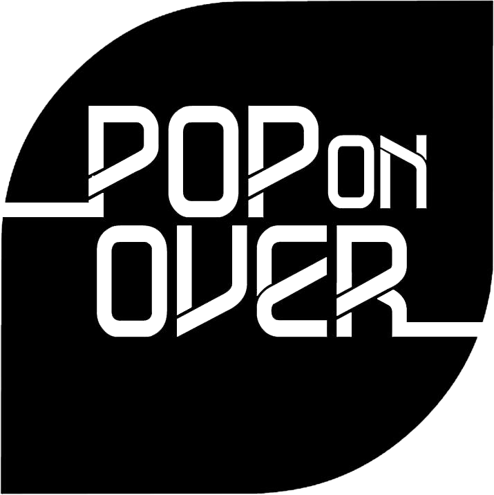 Pop on Over Logo