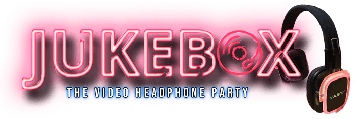 Jukebox Headphone Party Logo