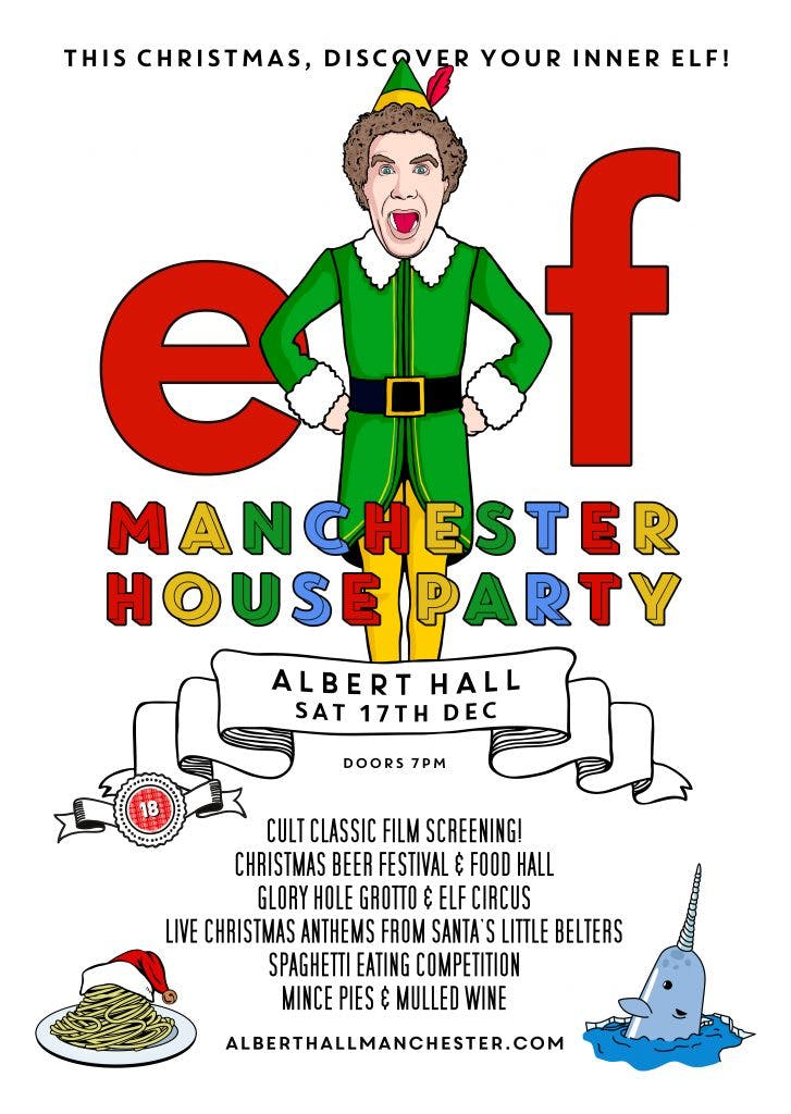 ELF MANCHESTER HOUSE PARTY!!!