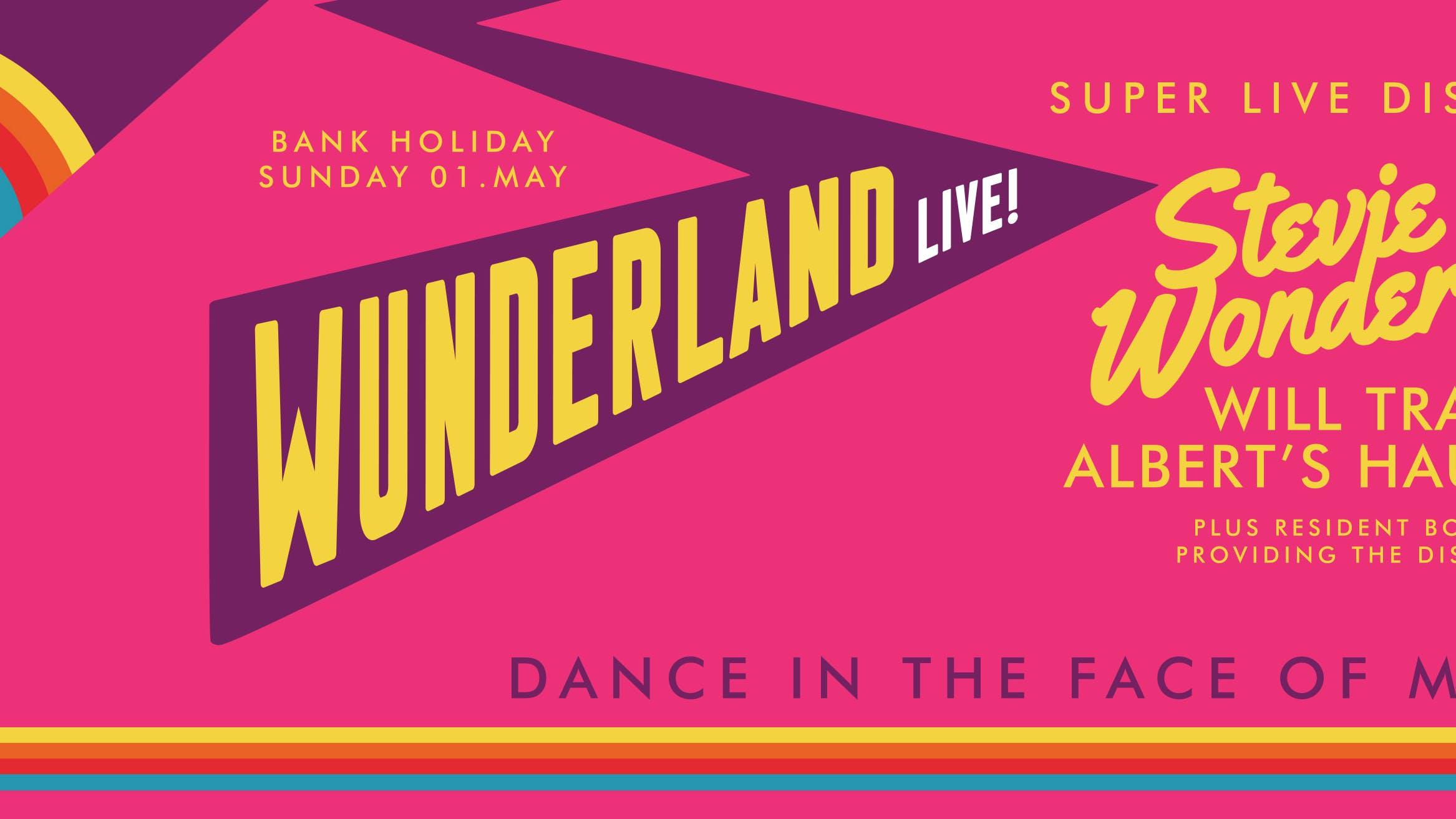 STEVIE WUNDERLAND… LIVE!