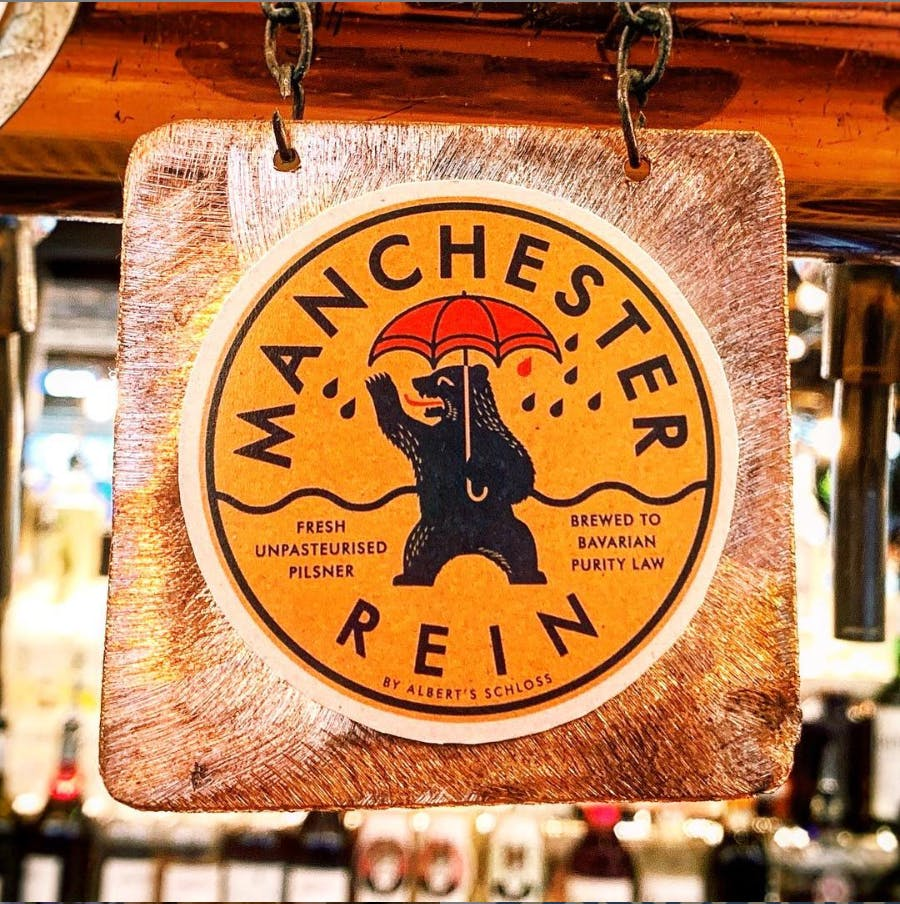 Manchester Rein – Classic Pilsner Made In Manchester