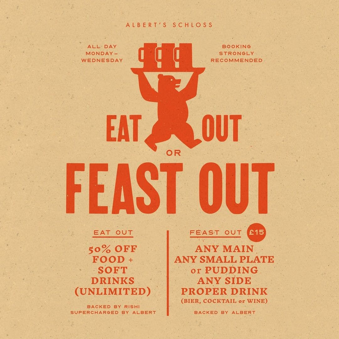 EAT OUT OR FEAST OUT