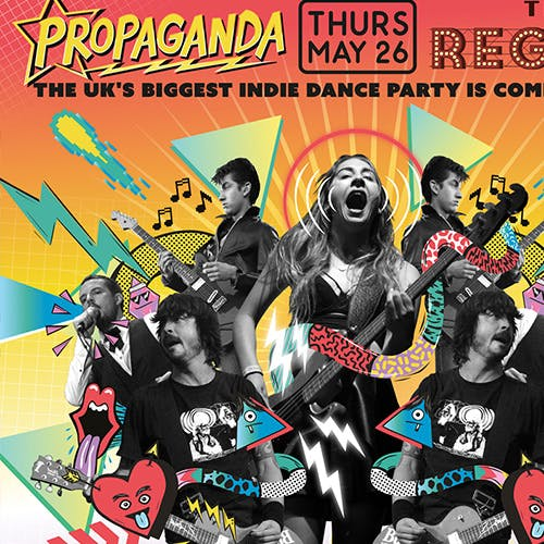 Propaganda Launches in LA at The Regent Theater!