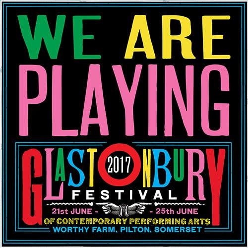 Propaganda at Glastonbury 2017!