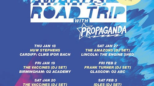 VO5 NME Awards Road Trip With Propaganda!