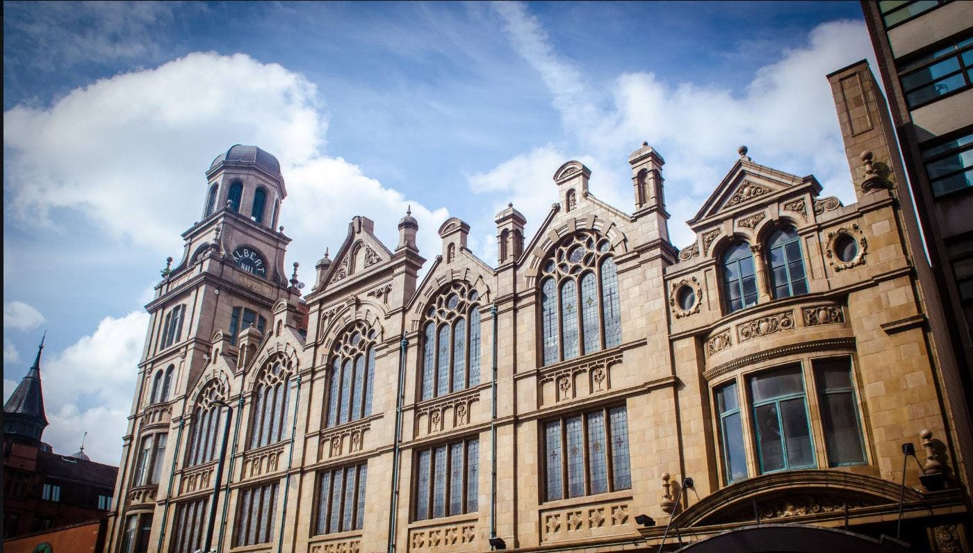 The History of the Albert Hall Manchester