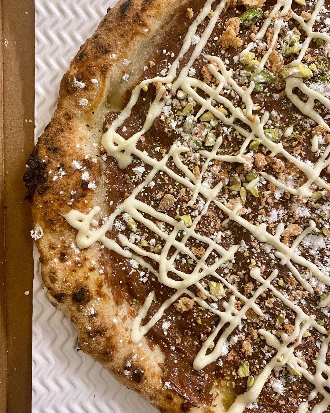 NUTELLA PIZZA SPECIALE