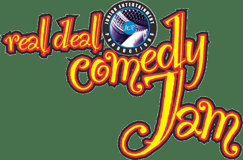 Real Deal Comedy Jam Logo