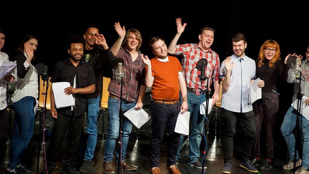 BA Comedy Writing & Performance