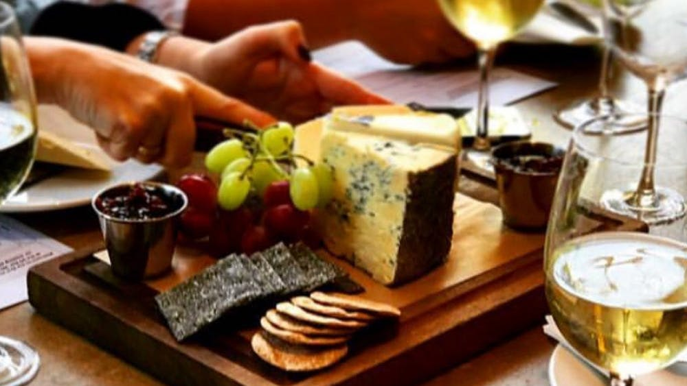 CHEESE AND WINE FIESTA