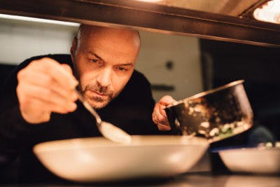 OUR FIRST GOURMET NIGHT WITH SIMON RIMMER