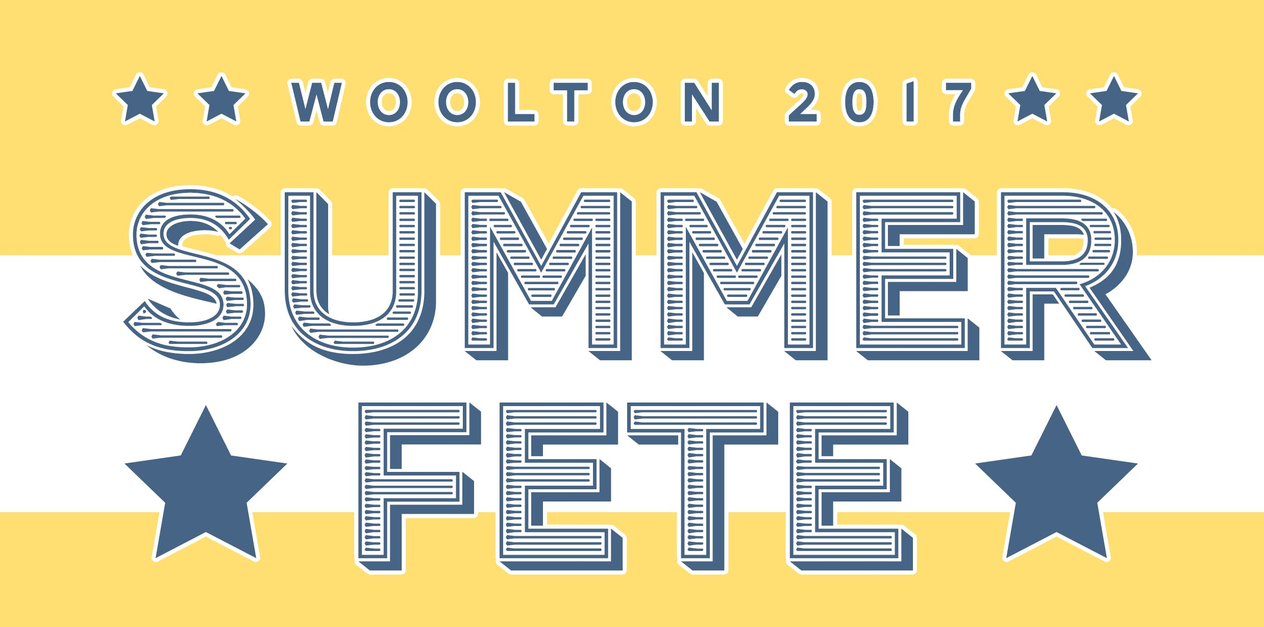 OUR WOOLTON SUMMER FETE & FEAST