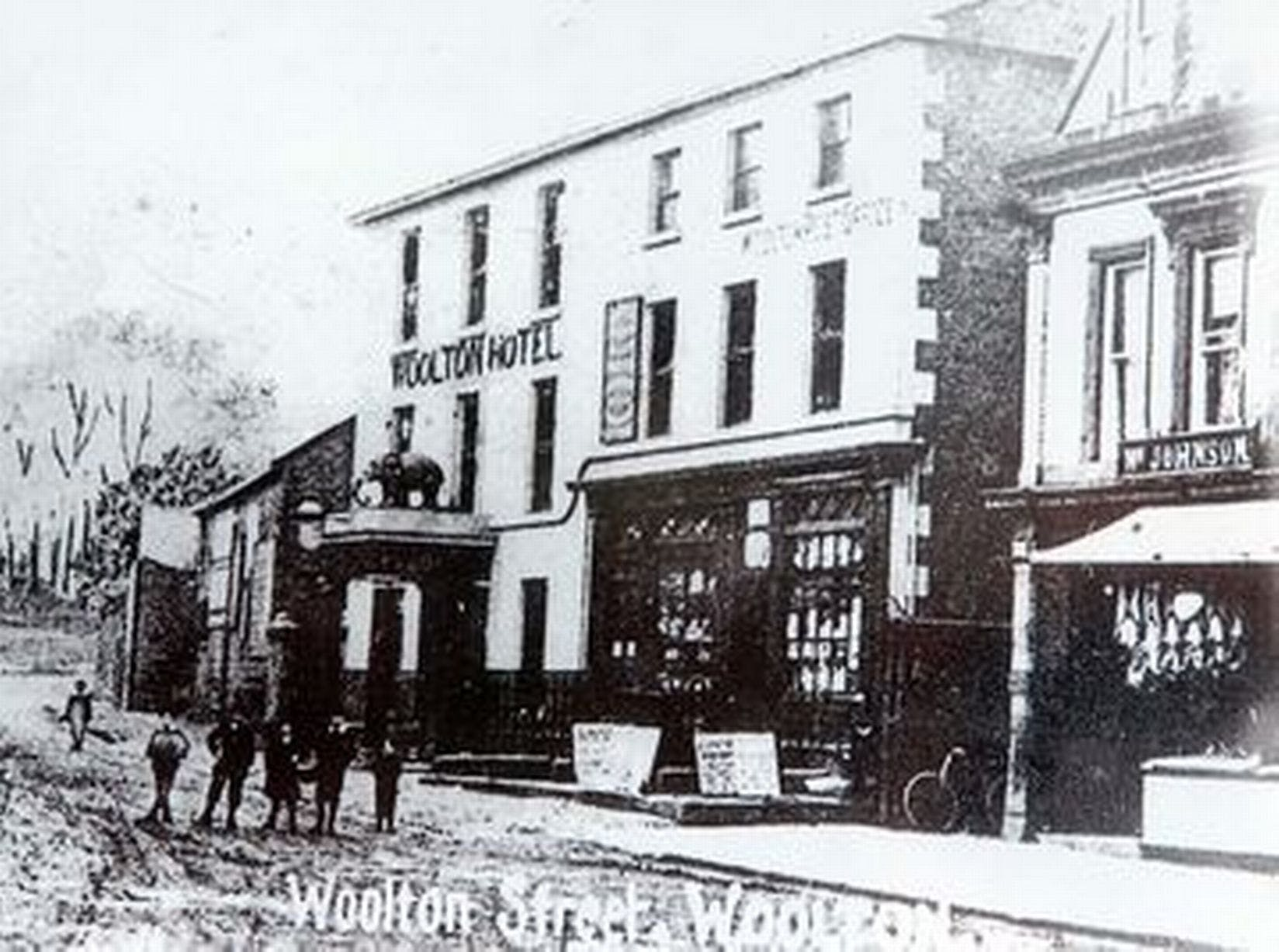 THE MURDER MYSTERY OF WOOLTON VILLAGE