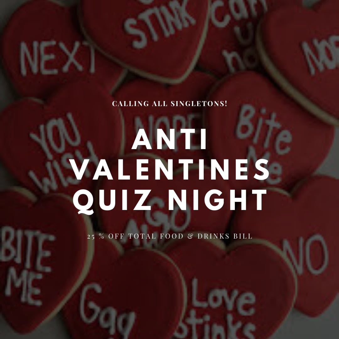 ANTI VALENTINES QUIZ