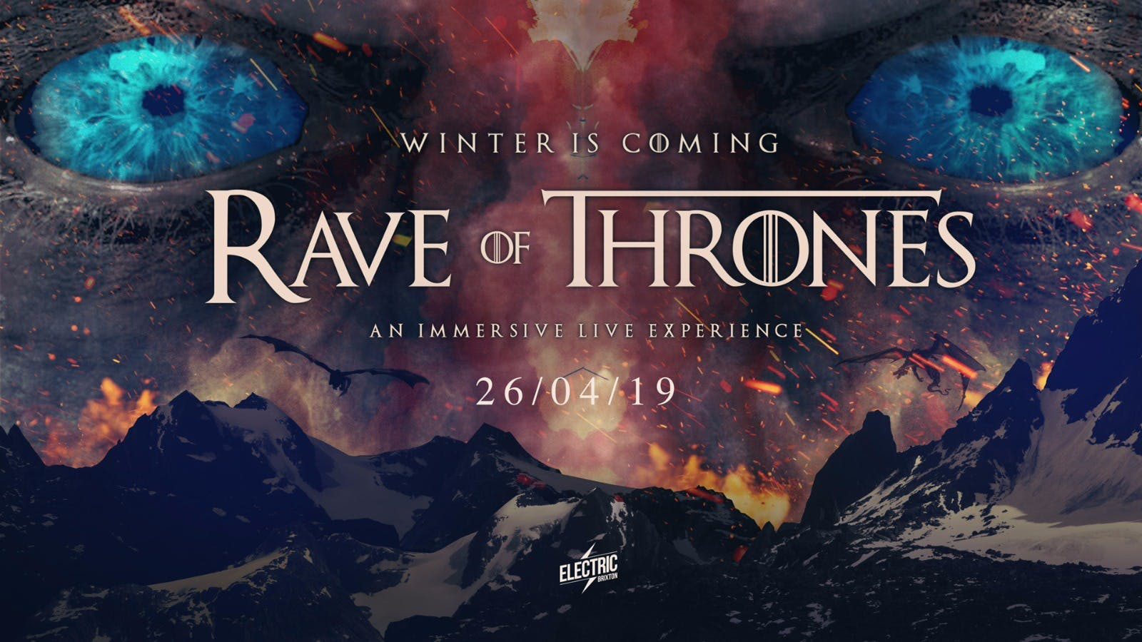 Winter is here: Rave of Thrones London