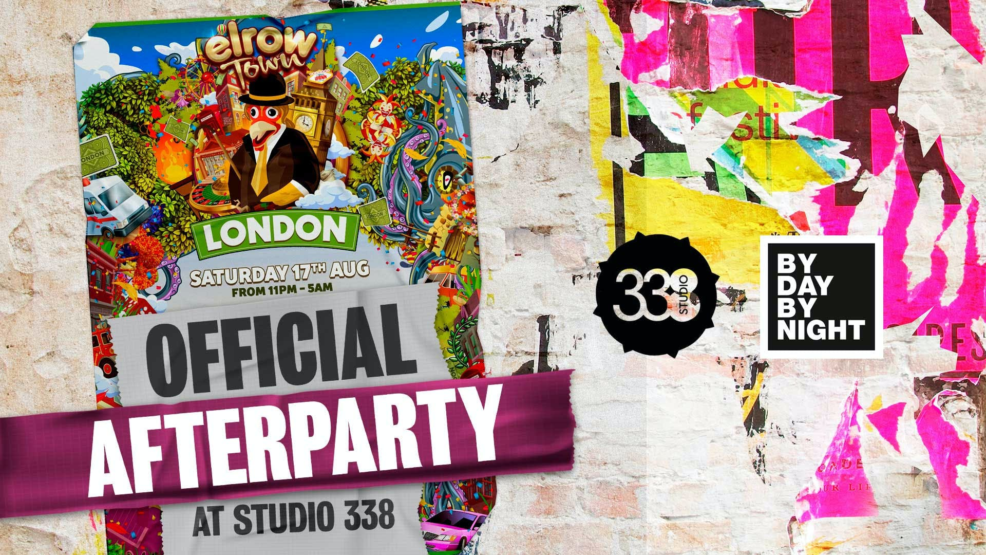 Byday Bynight partner exclusively with Elrow for Elrow Town London afterparties