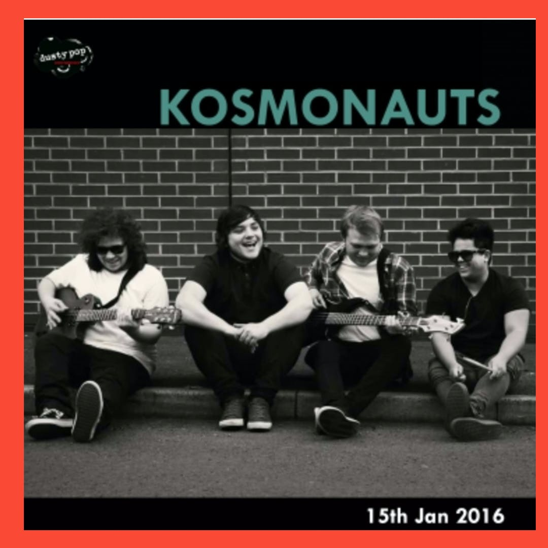 NEW SONG FROM KOSMONAUTS