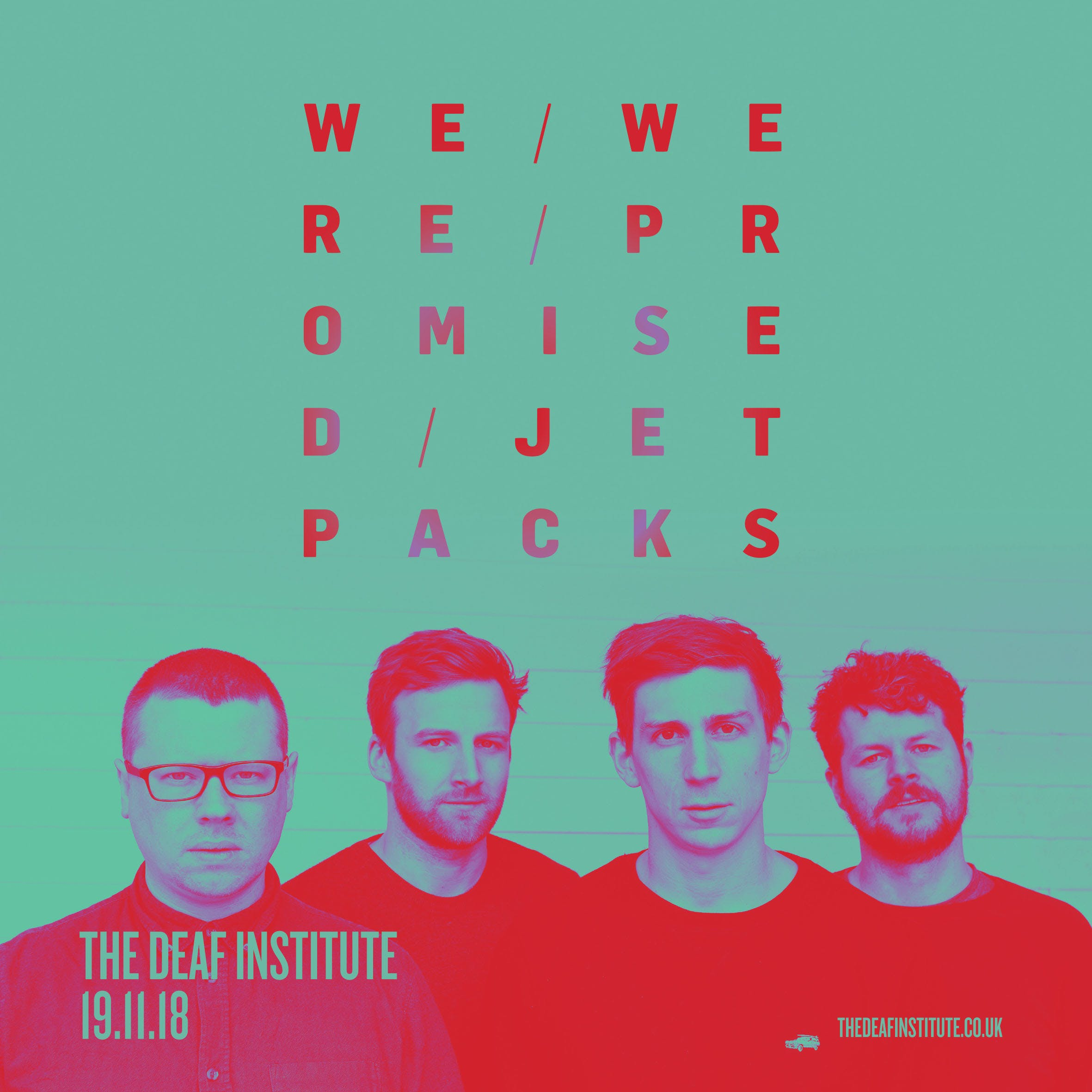 OUR PAST FAVOURITE SHOWS! – WE WERE PROMISED JET PACKS