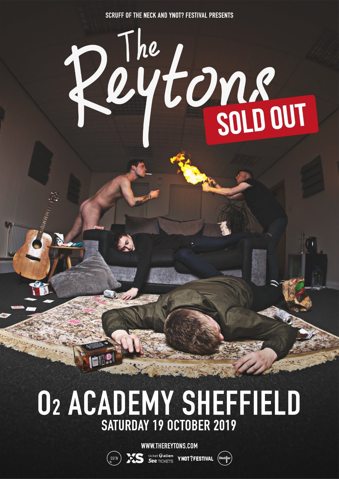 SOLD OUT: The Reytons O2 Academy Sheffield