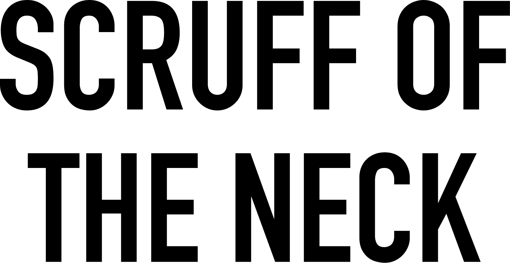 Scruff of the Neck Logo