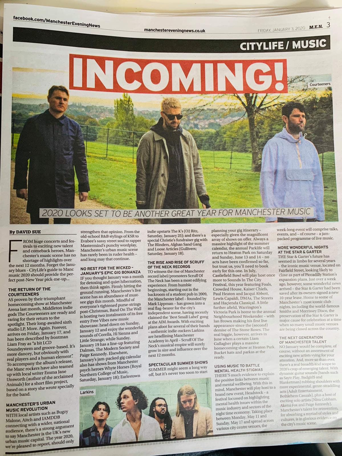The rise and rise of scruff of the neck records – 'Manchester Evening News'