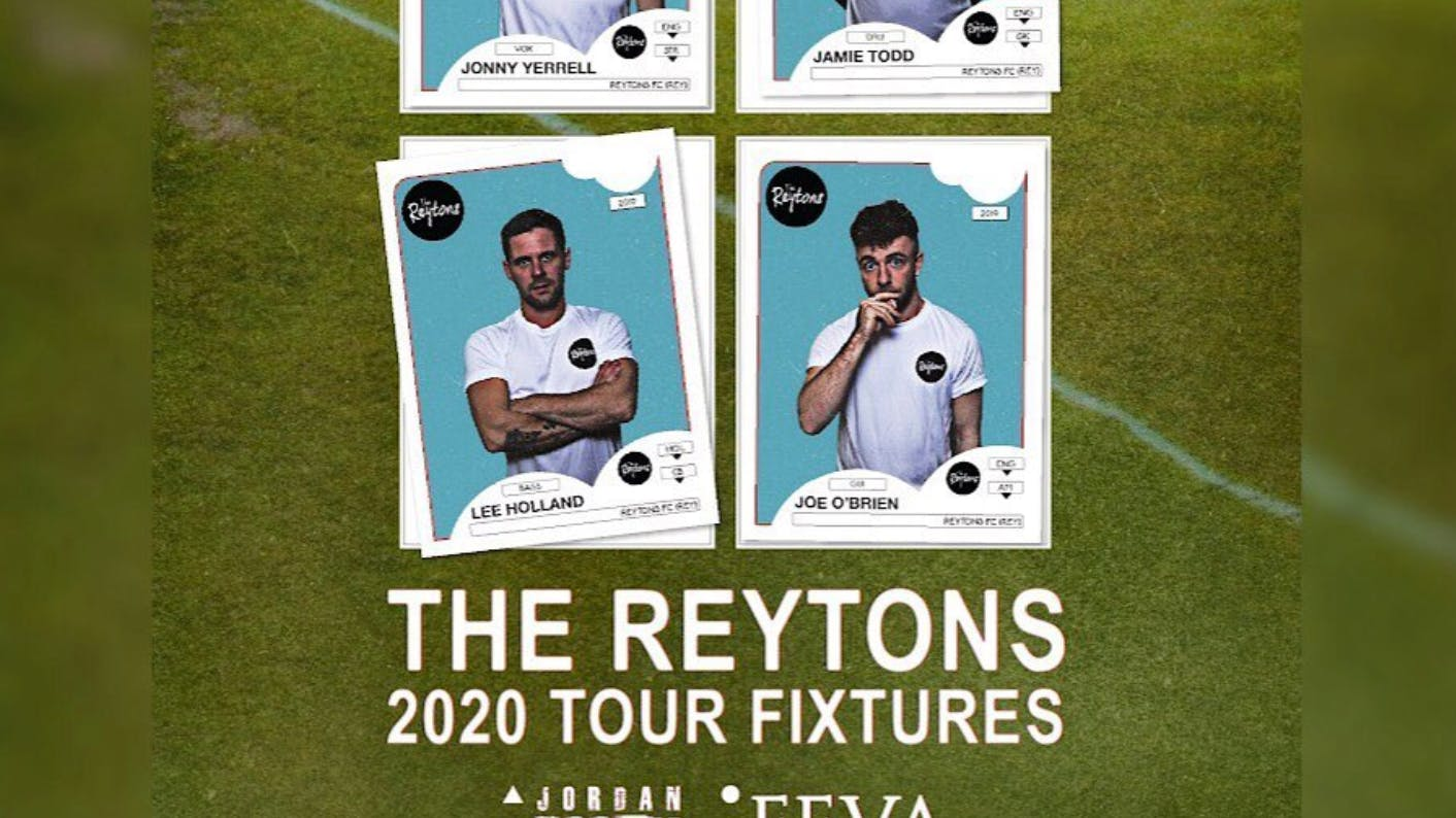 The Reytons UK Tour 70 % Sold Out