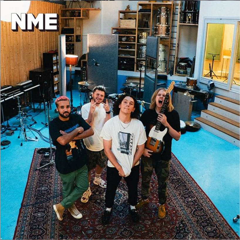 Larkins named as NME 100 Essential Artists for 2020