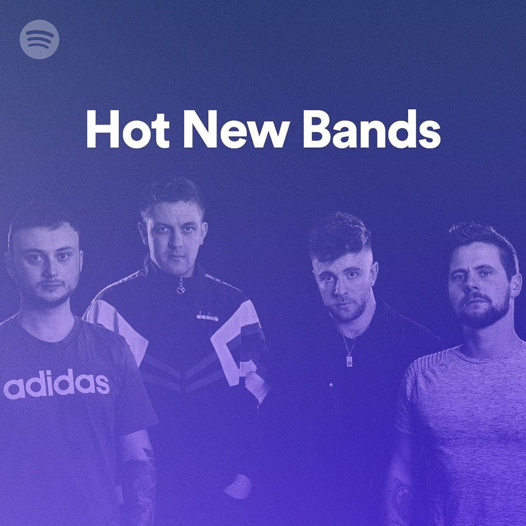 The Reytons land 'Hot New Bands' playlist