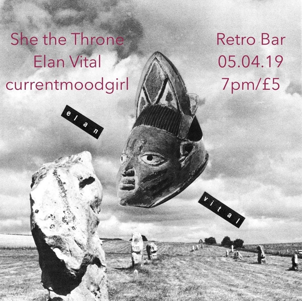 Elan Vital and friends at Retro Bar